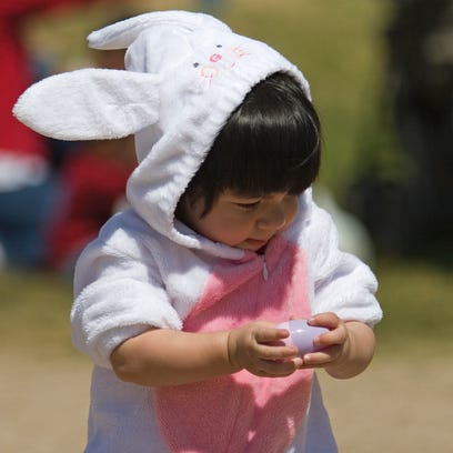 Egg hunts and visits with the Easter Bunny are just