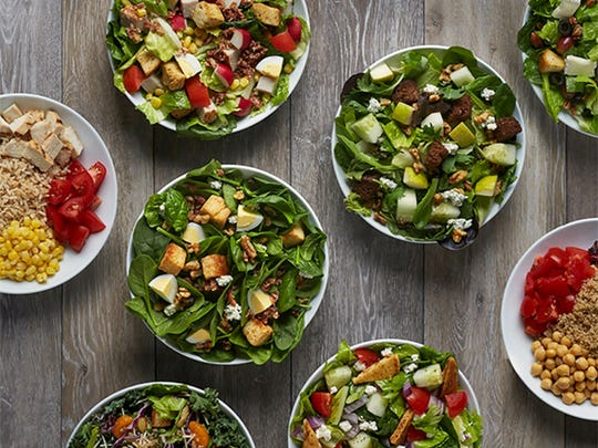 Giardino Gourmet Salads has more than 15 varieties of salads to choose from as well as create-your-own options.