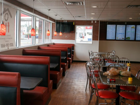 The 25 Burgers in Bound Brook, pictured on Sept. 28, 2016, is set to open soon after rebuilding from a fire in June 2015.