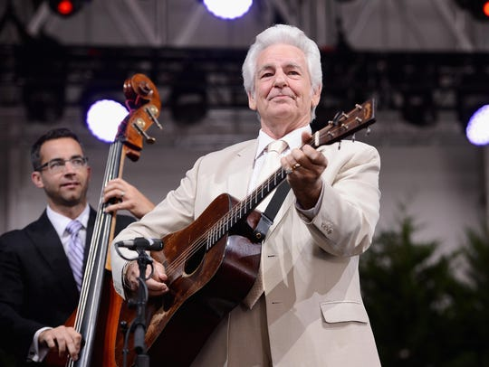 The Del McCoury Band will be among the headliners at