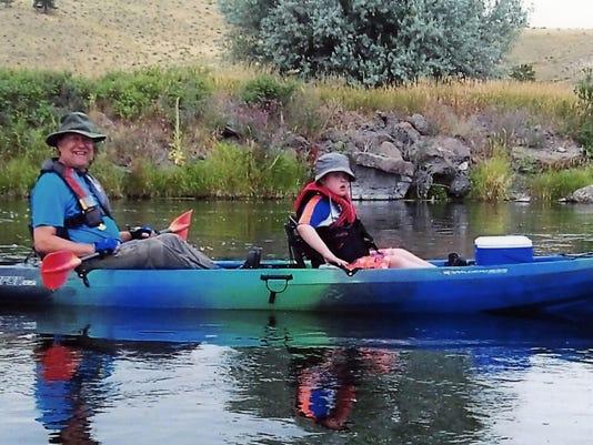 Clarks kayak