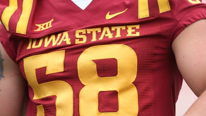 Mitchell Meyers will wear the No. 58 this season in honor of late Iowa State assistant coach Curtis Bray. Cory Morrissey wore the number last season.