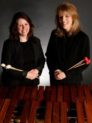 Kristen Tait and Lynn Koch are Musica Batteria.