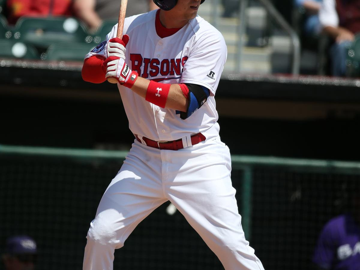 Former Rocky Mountain High School baseball player Andy Burns is hitting .289 for the Buffalo Bisons, the Triple A affiliate of the Toronto Blue Jays.