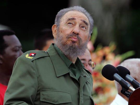 (FILES) Cuban President Fidel Castro che