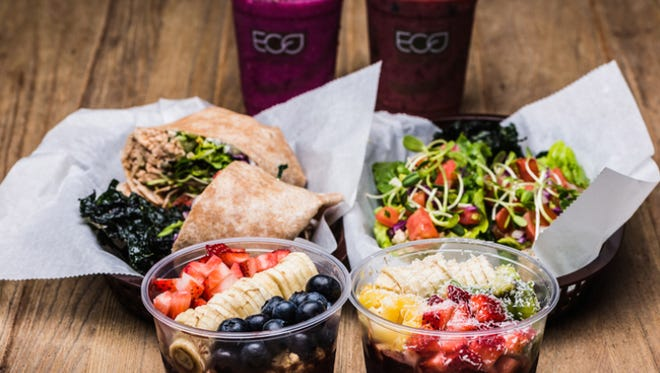 3 Natives offers a variety of fresh menu options, including acai bowls, wraps, smoothies and more.
