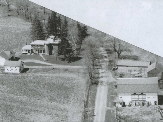 Hawkins home and buildings in the 1950s.jpg