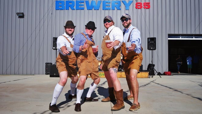 Greenville's Brewery 85 hosts an Oktoberfest on Saturday, one of several beer events on tap around the Upstate and Western North Carolina.
