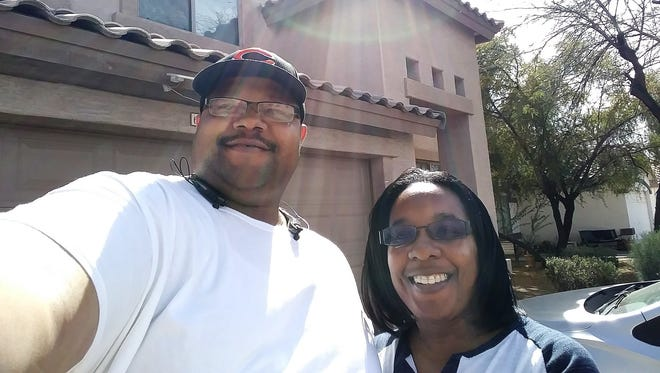 Russell Arnold and his fiance, teacher Tamika Wilson, worked with Home in Five to buy a home in west Phoenix.