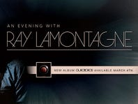 Win VIP tickets to Ray LaMontagne