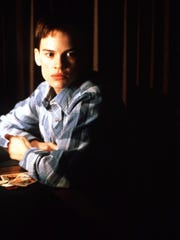 """Hilary Swank stars in """"Boys Don't Cry."""""""