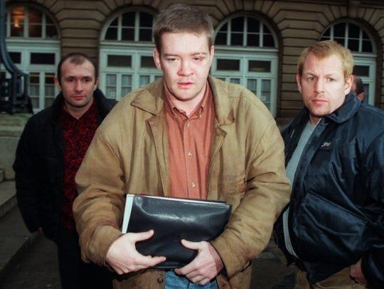Trevor Rees-Jones in Paris on Dec. 19, 1997.