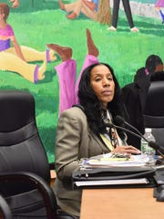 Poughkeepsie City School District Superintendent Nicole Williams, during a meeting on Dec. 13, 2017.