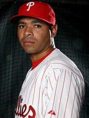 Phillies reief pitcher Jeanmar Gomez