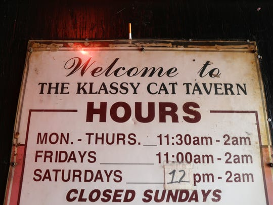 The Klassy Cat adult tavern in Henrietta in closed for good.