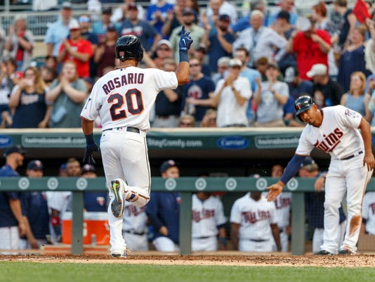 USP MLB: SEATTLE MARINERS AT MINNESOTA TWINS S BBA MIN SEA