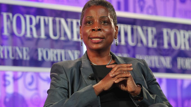 Chairman and CEO of Xerox Ursula Burns speaks onstage at the FORTUNE Most Powerful Women Summit on October 17, 2013 in Washington, DC.