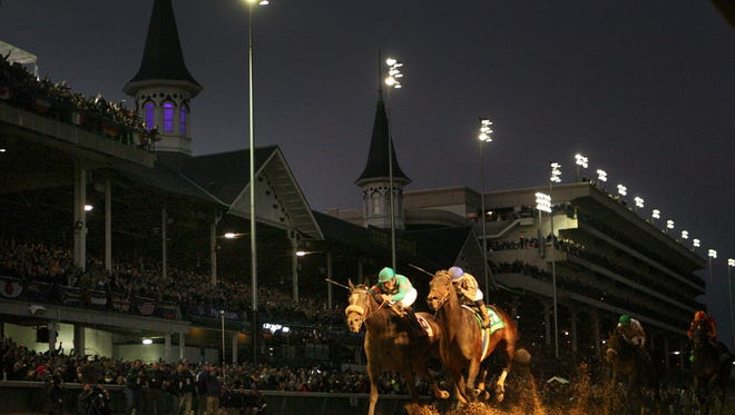 Blame holds off Zenyatta for the Classic win.By Michael Clevenger,  The Courier-Journal.
