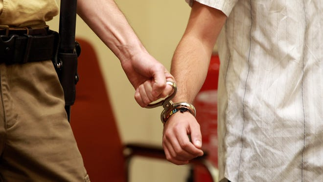 Arrest record for Escambia and Santa Rosa counties.