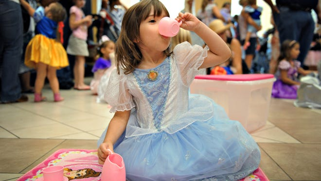 Come take part in a Pretty Princess tea party 10-11:30 a.m. Wednesday at the Port St. Lucie Civic Center.
