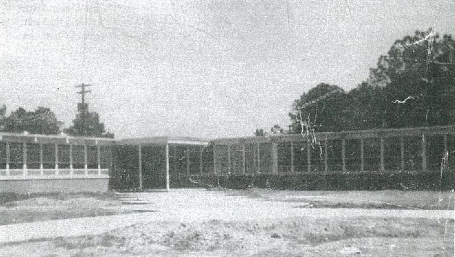 The groundbreaking of Doby High School in Wetumpka in 1963. Part of the building is now Wetumpka Elementary School.