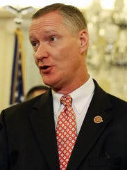 Rep. Steve Stivers, R-Ohio, speaks during a news conference