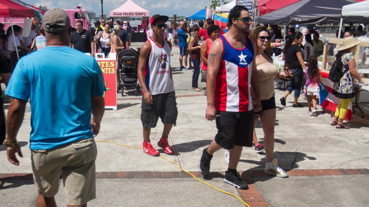 The Hispanic Heritage Festival was held on Saturday at Centennial Park in Fort Myers.