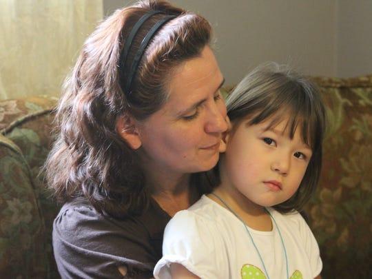 Bobbi Eiler with Aylene, 4.