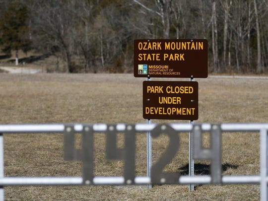 Four recently purchased state parks are closed while