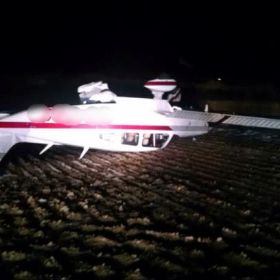 A plane crashed in Adams County