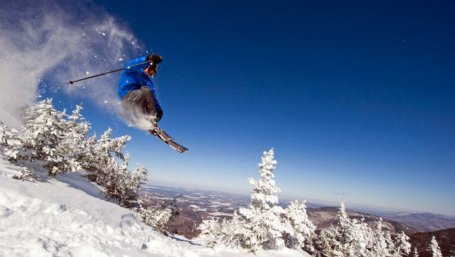 Smugglers' Notch, Vermont: An adrenaline connoisseur may pass over the Northeast altogether, but the folks at Smuggs are doing their best to make you think twice about that plane ticket to Colorado. New England's only triple black diamond run is here, a 1,600-foot trail called the Black Hole that falls at a grade of over 65% for its first 600 feet. Tight trees, cliffs and bumps make this super-steep section extra frightening for those without the necessary steely confidence.
