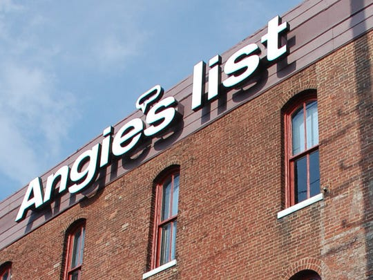 Angie's List headquarters is just east of Downtown Indianapolis.
