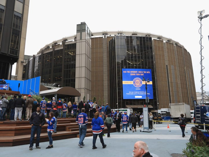 The Flyers make a stop in New York before returning