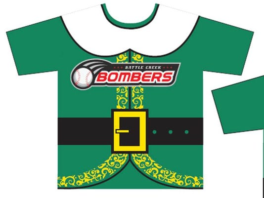Bombers unveil  Elf -themed jerseys 05bf34987