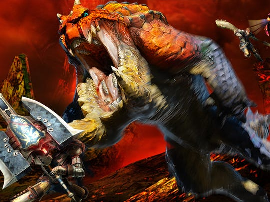 """""""Monster Hunter 4 Ultimate"""" debuts two new weapons, the insect glaive and charge blade."""