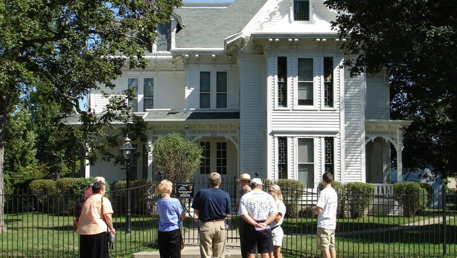 The Truman Home in Independence draws thousands of visitors each year but is currently closed because of the pandemic.