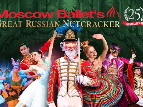 "The Moscow Ballet is bringing the ""Great Russian Nutcracker"""