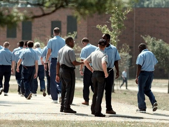 Officers at Warren Correctional Institution speak to