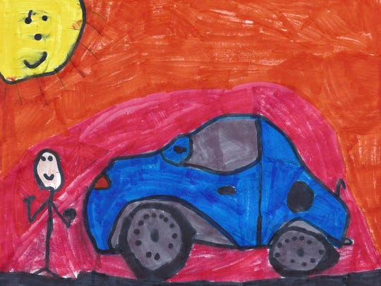 If I could change anything, I would use hydropower instead of gasoline to power cars. This way we won't breathe bad air. I want to be the one who invents hydropower cars, so I will go to school to do it.  Liam Garling  Grade 3, Highland Elementary School