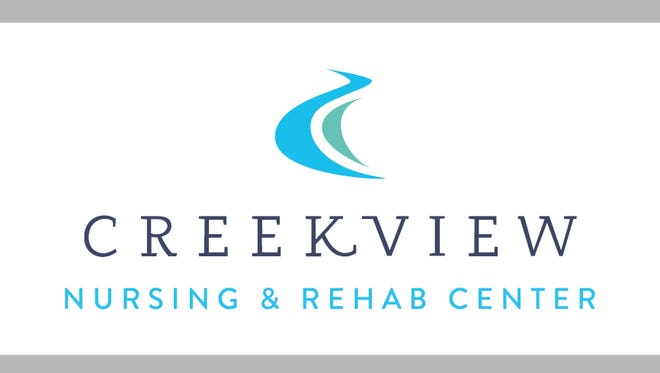 logo for Creekview Nursing and Rehabilitation Center, the former Westgate Residence and Rehabilitation Center in Gates.