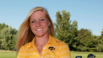 Iowa's Jessie Sindlinger tied for lead at Women's State Amateur after second-round 72.