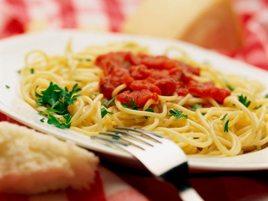 Italian police settled a domestic dispute with pasta.