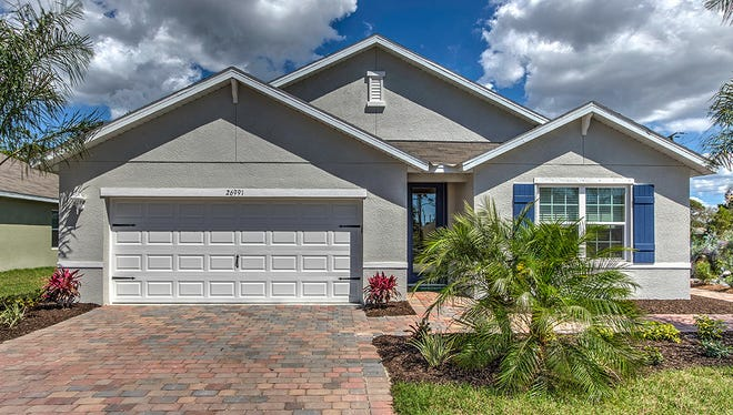 The Cali model at D.R. Horton's new community of Hadley Place in Naples.