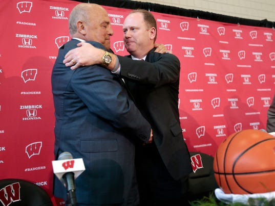 Greg Gard, Barry Alvarez