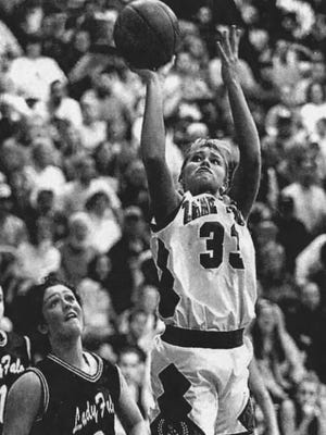 Zane Trace graduate Kristal Tharp still holds the Ross County scoring record with 2,255 career points. Tharp now lives in Grayslake, Illinois with her husband and three children.