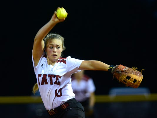 Tate High School Region 1-7A softball