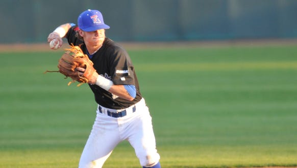Louisiana Tech shortstop Chandler Hall is one of two