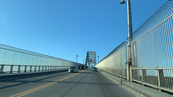 The Bourne Bridge over the Cape Cod Canal is seen in a file photo.