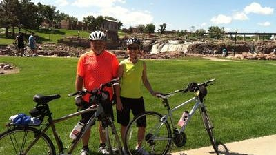 Joel and Patti Hovdenes, Omaha, will return to their hometown of Sioux Falls to bike in Tour Sioux Falls for the second time.