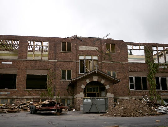 Walls continue to come down at St. Philip Catholic